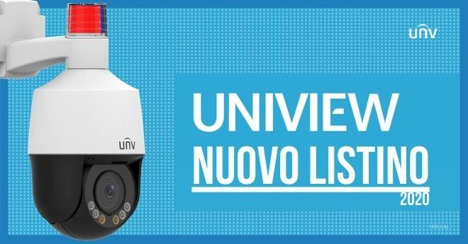 Nuovo listino UNV 2020!
