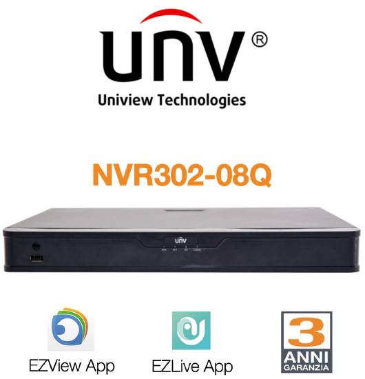 NVR302-08Q di UNV