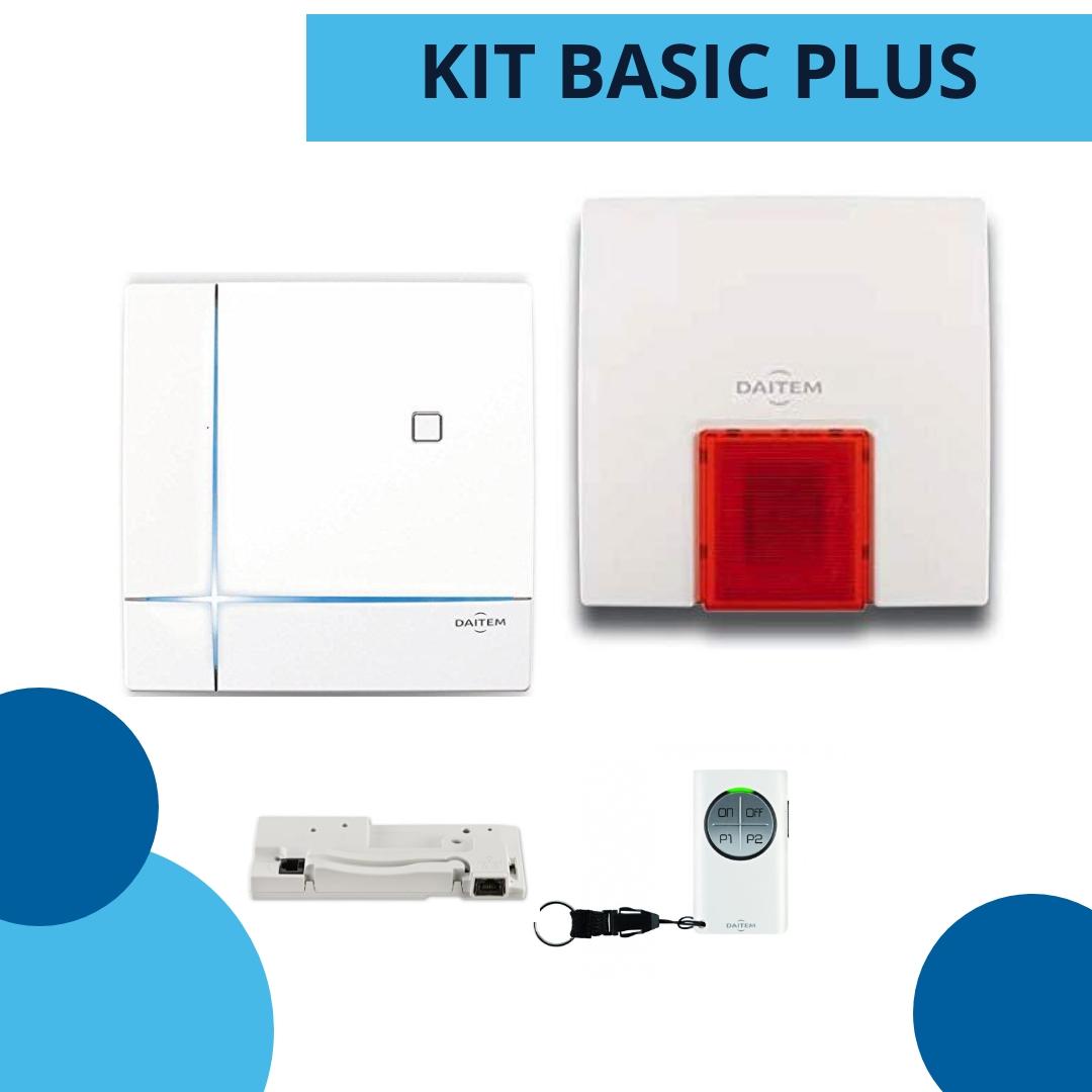 KIT BASIC PLUS DAITEM - allarme senza fili
