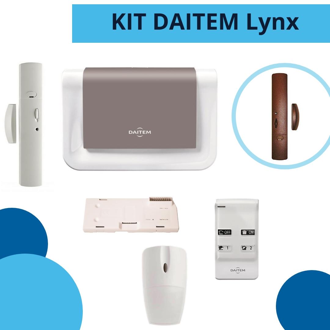 kit daitem lynk - antifurto senza fili