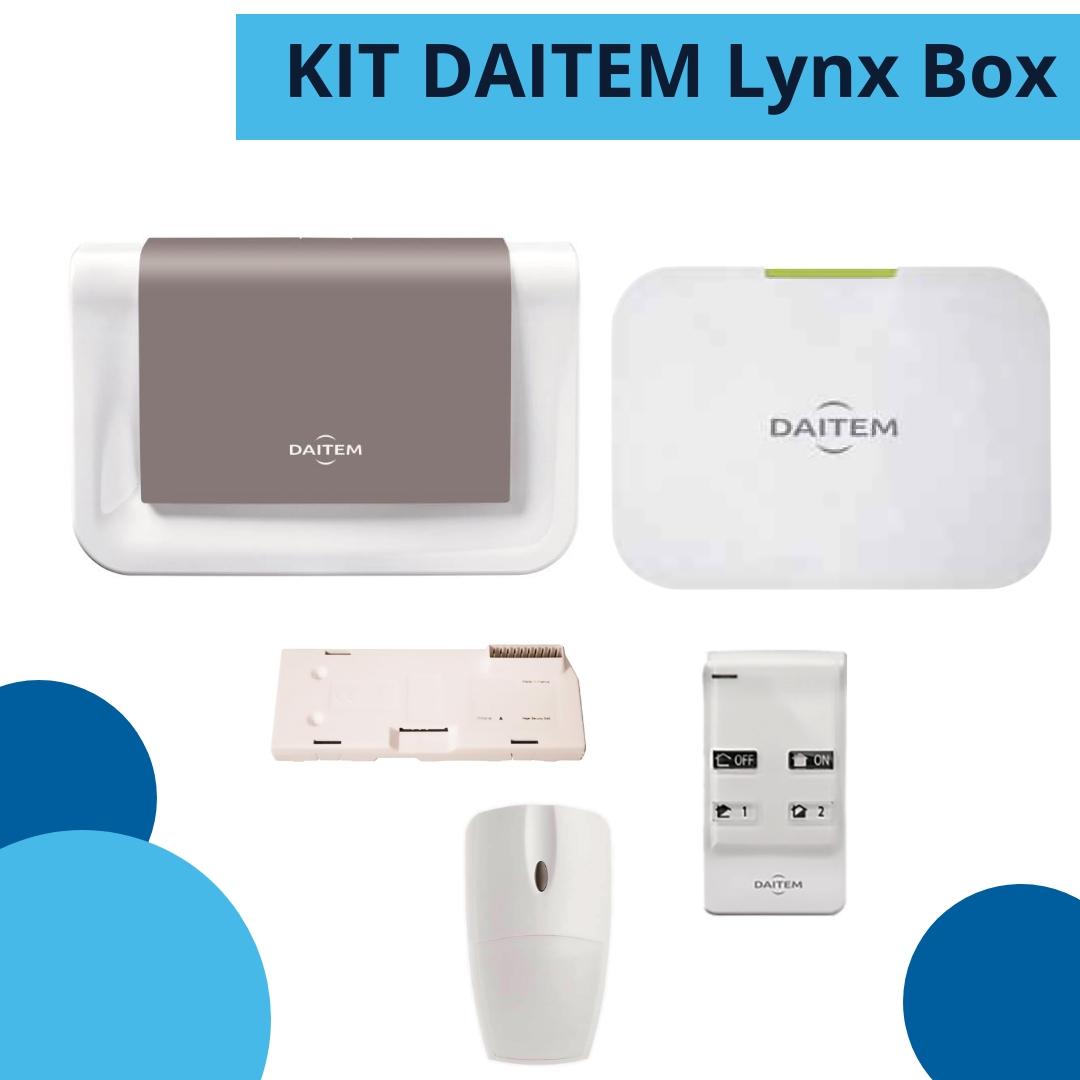 kit DAITEM Lynx box - antifurto senza fili