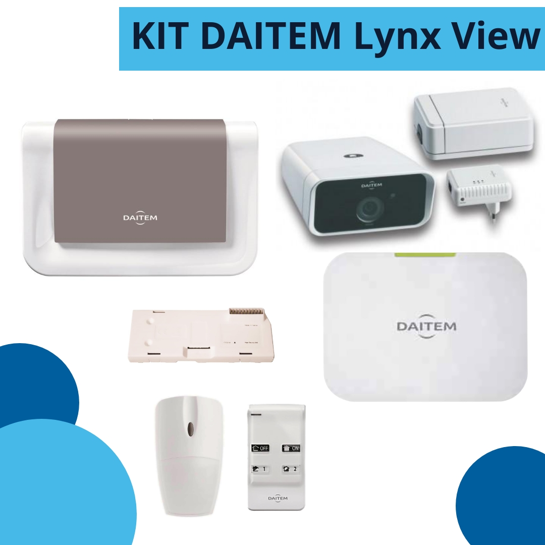 kit DAITEM Lynx View - antintrusione senza fili