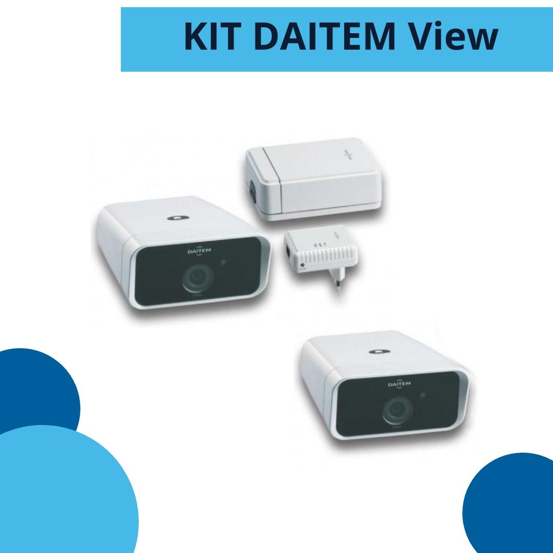 kit DAITEM view - antifurto senza fili