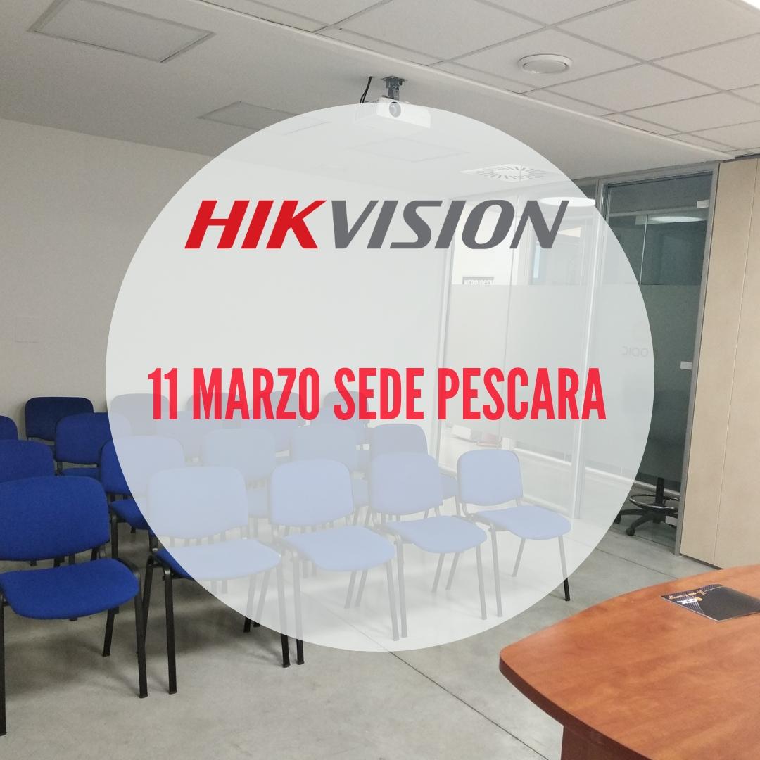 Hikvision Tour: 11 marzo nella sede di Pescara