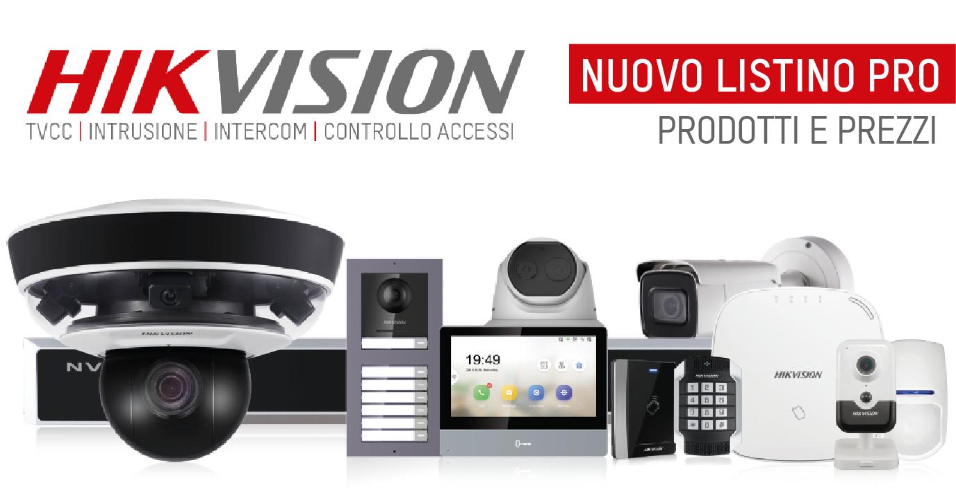 Scarica ora il nuovo listino Hikvision!