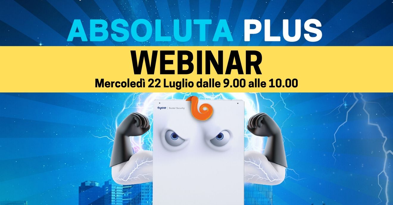 Webinar: Nuova centrale Ibrida Absoluta Plus!