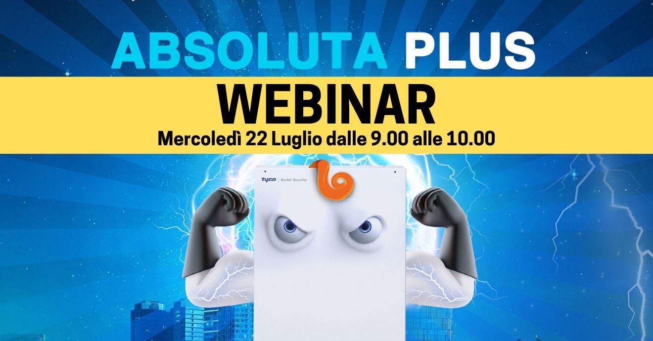Webinar: Nuova centrale Ibrida Absoluta Plus!