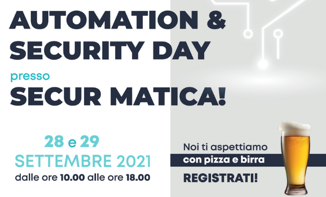 Automation & Security Day in Secur Matica