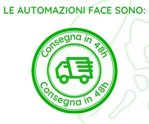 Face Automation: porte automatiche in consegna in 48h