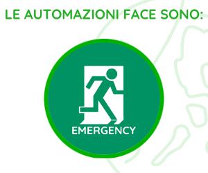Face Automation: soluzioni porte automatiche emergency