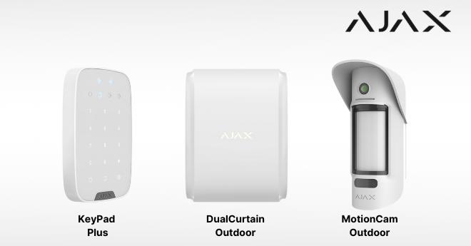 Nuovi dispositivi Ajax